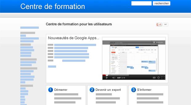 Google Sites - organisez votre contenu