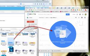 Importer une image dans Google Drive